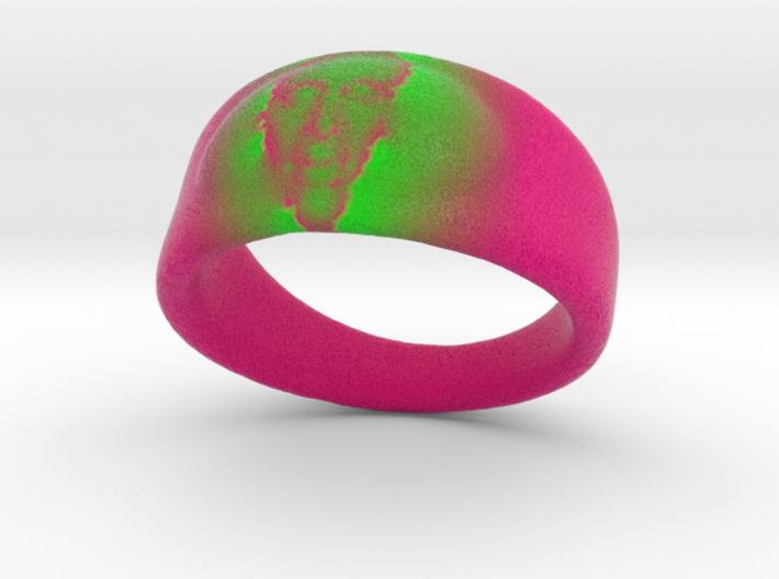 Visage Ring 3d printed