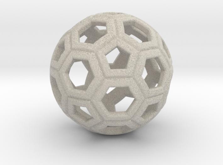 Soccer Ball 1 Inch 3d printed