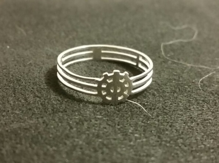 [The 100] Heda Forehead Piece Ring (US Size 9) 3d printed