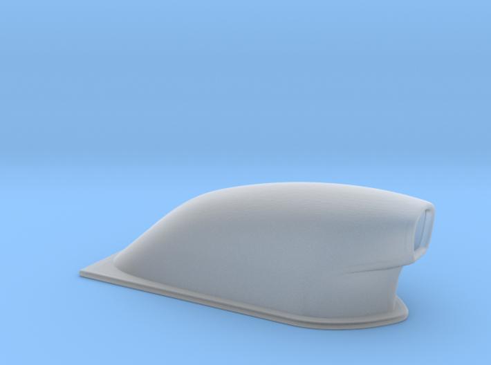 1/64 Large Pro Mod Hood Scoop 3d printed