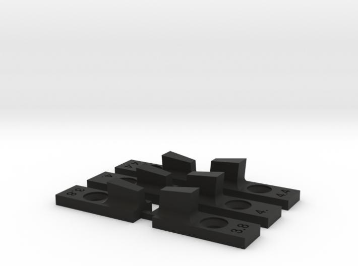 Mg1 Front Sight Set (3) 3d printed