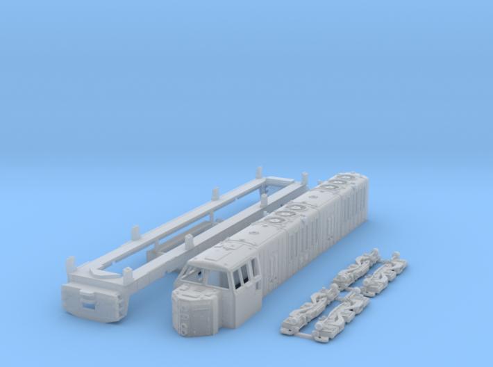 N Scale ML4000 Hood unit 3d printed