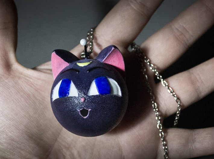 Luna P Sphere 2in Pendant/Ornament 3d printed