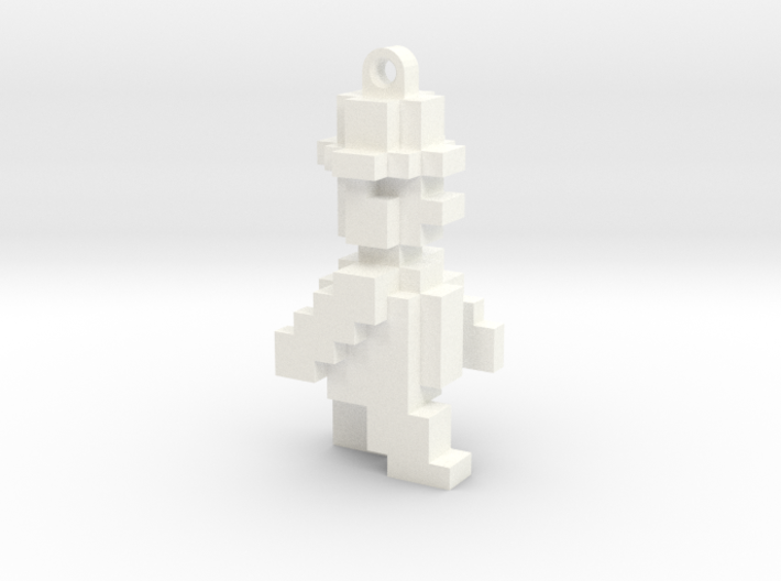 JSW Willy-1R-Keychain (Large, 4cm) 3d printed