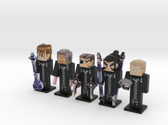 Organization XIII- KH2 5-pack 3d printed