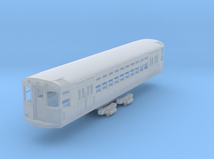 N Scale CTA 1-50 Series Car (3rd Rail Version) 3d printed