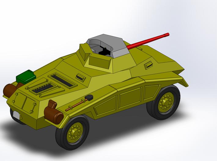Le Panzerspähwagen 4-Rad MG 1/285 6mm 3d printed