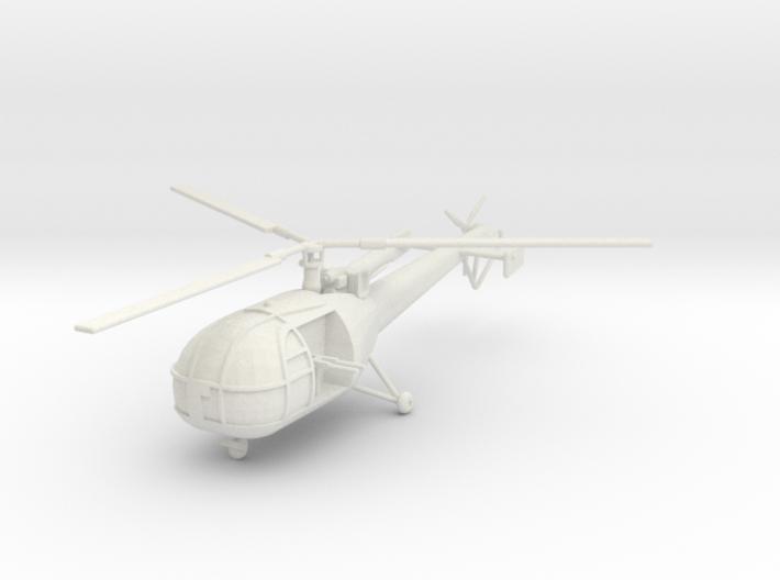 BW02A Alouette III G-Car (1/56) 3d printed