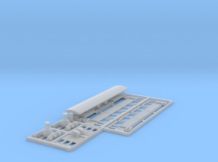 Passenger coach (AB1-10) Nm/Nn3 3d printed
