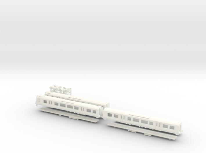 Scotrail 380/1 N Gauge Model 3d printed