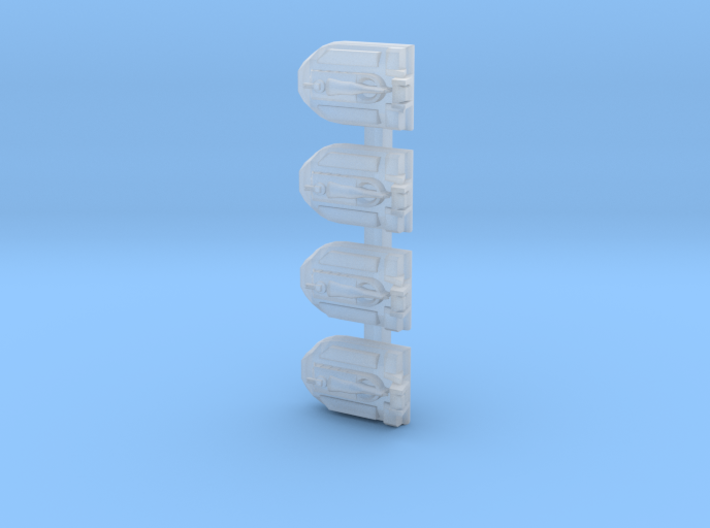 1/1200 Scale Vietnam PACV SK5 X 4 Off 3d printed