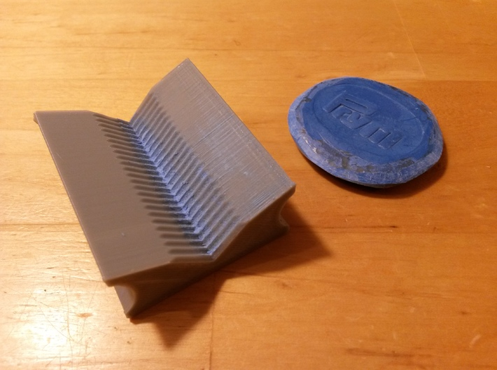 Tailor's Chalk Sharpener 3d printed 3D printed with PLA