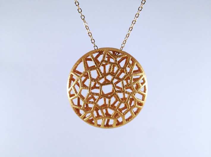 Bio Cell Pendant 3d printed