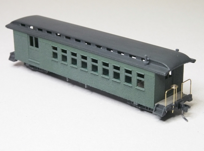 HOn3 40ft Combine Coach E with Interior 3d printed