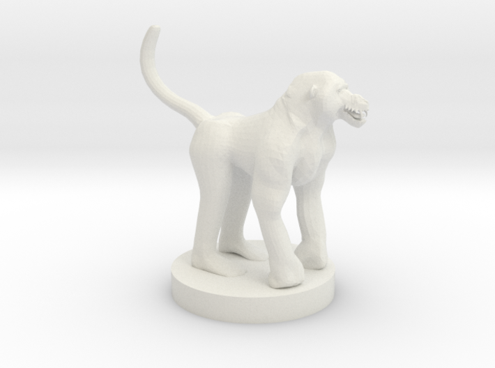 Baboon 3d printed