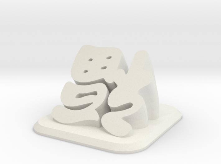 FuDesk 3d printed