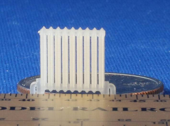 Radiator HO Scale X12 3d printed