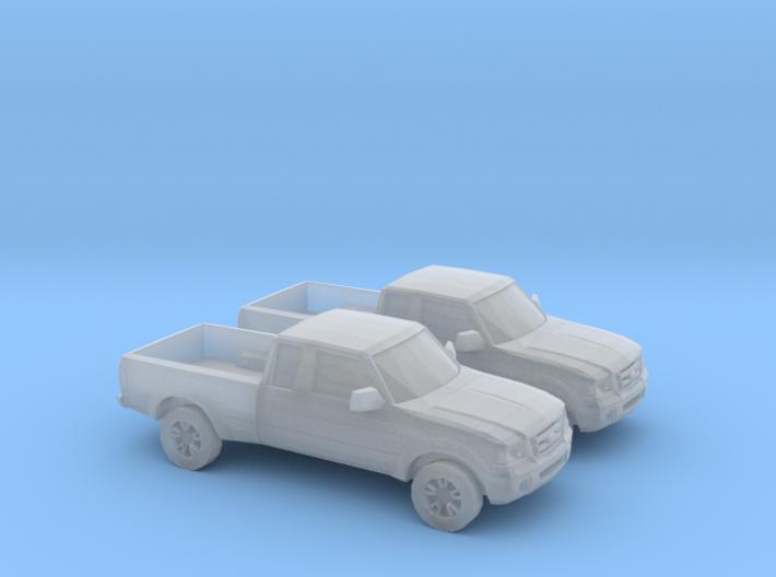 1/148 2X 2001 - 12 Ford Ranger 3d printed