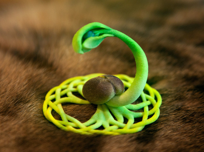The Seed of Yggdrasil 3d printed