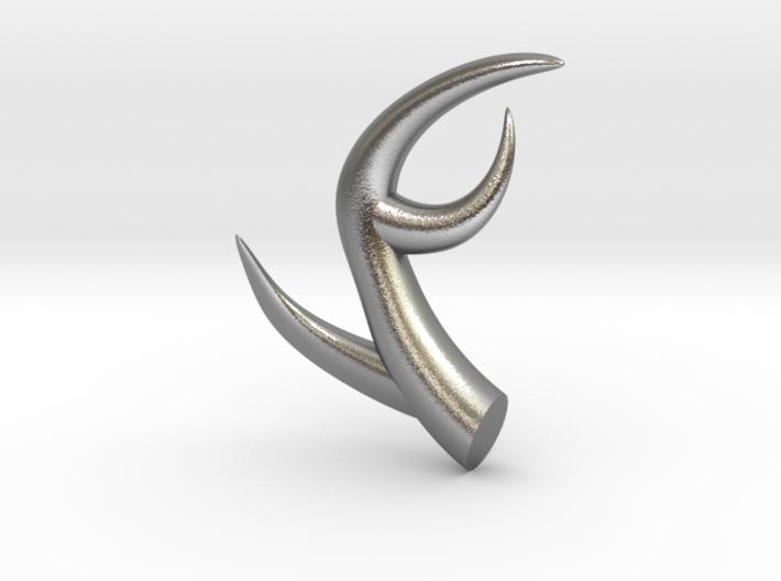 Modern Antlers 3d printed