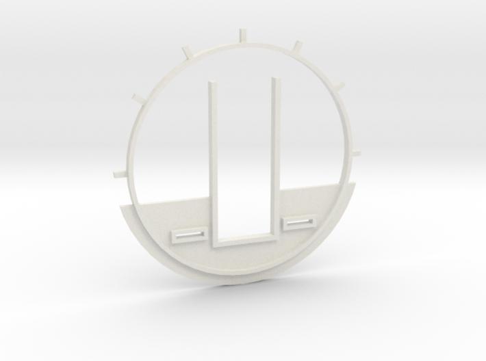 DeAgo Cockpit Backwall for Paragrafix PE set 3d printed