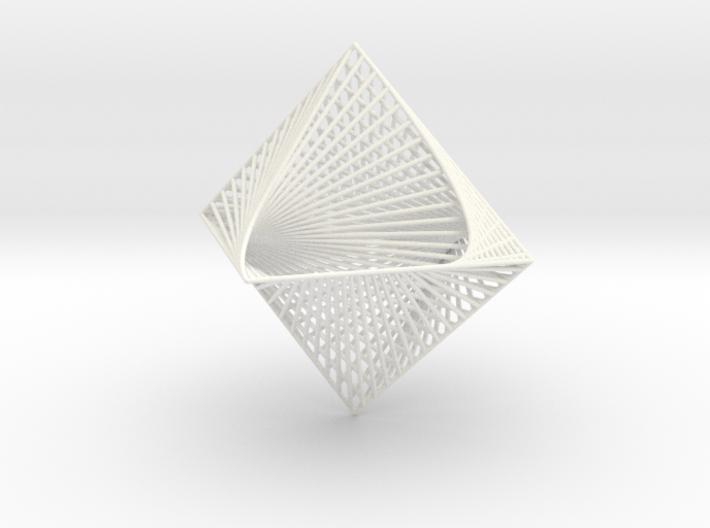 3D Strings Model 4 3d printed