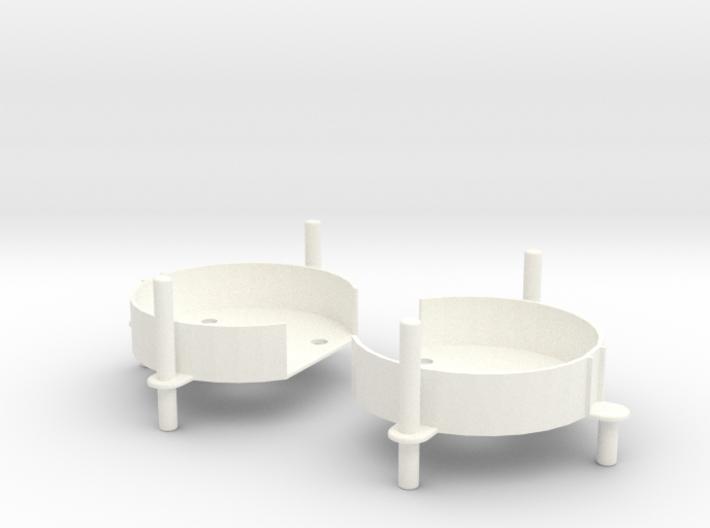 VooDoo2_CARRIAGES 3d printed