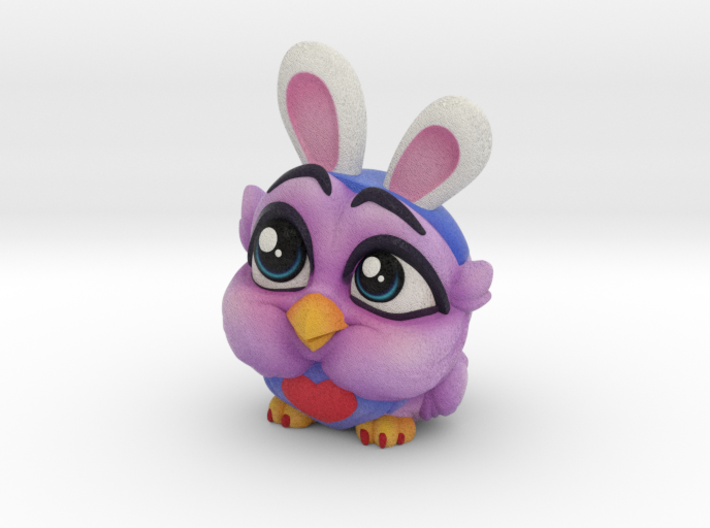 Olive the Owl 3d printed Olive the Owl!