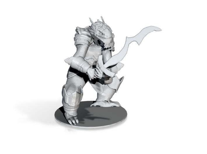Dragonborn fighter 3d printed