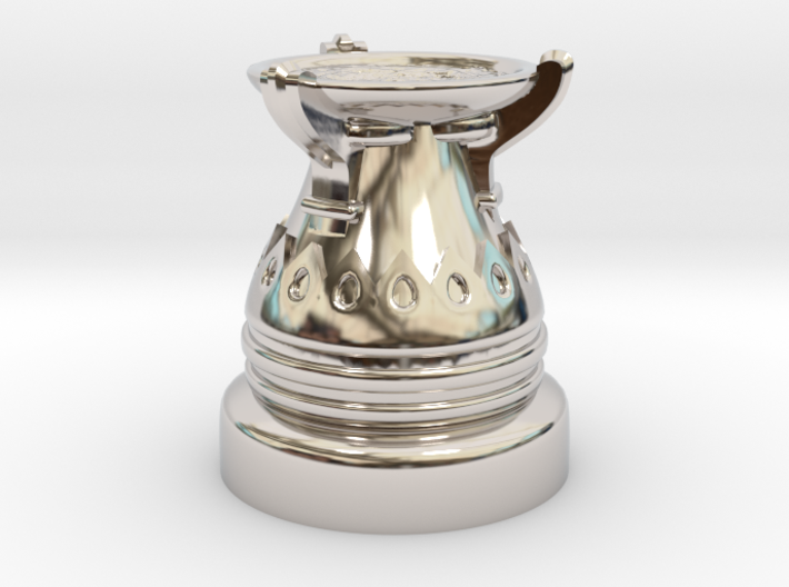 35mm Egyptian Cauldron 3d printed