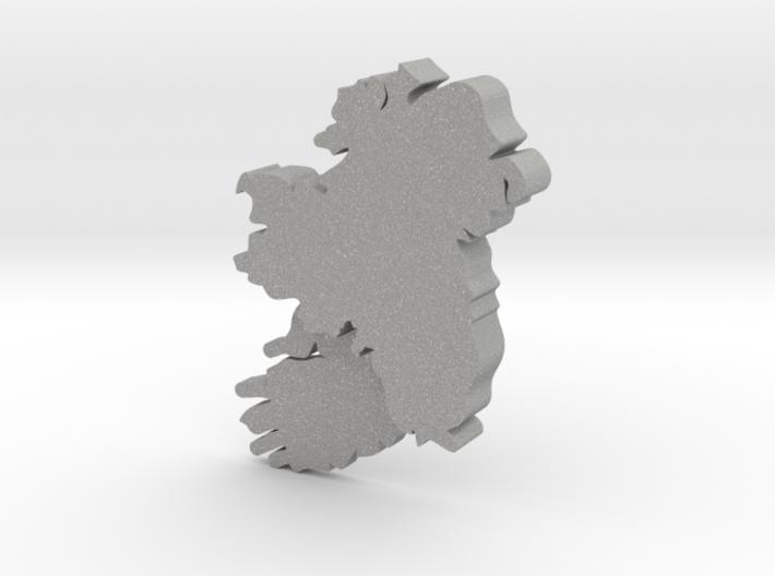 Leinster Earring 3d printed