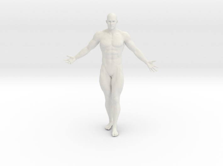2016016-Strong man scale 1/10 3d printed