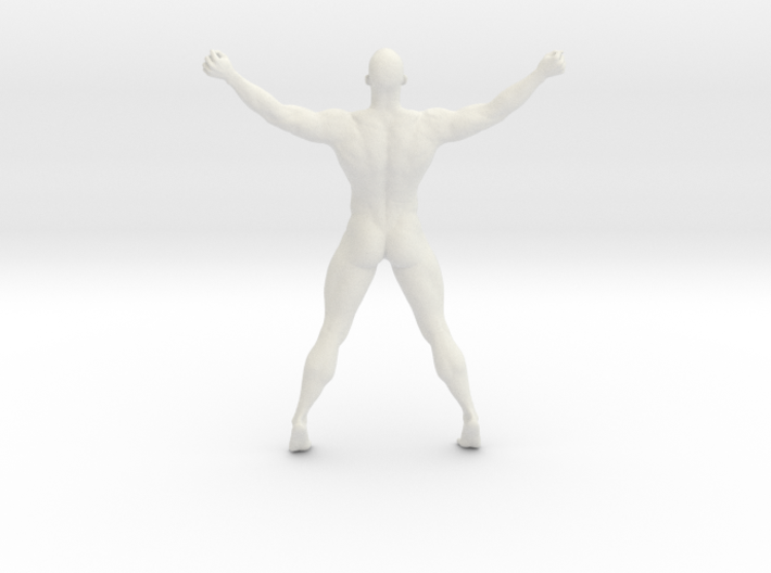2016023-Strong man scale 1/10 3d printed