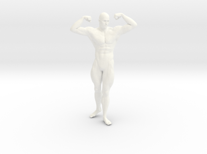2016022-Strong man scale 1/10 3d printed