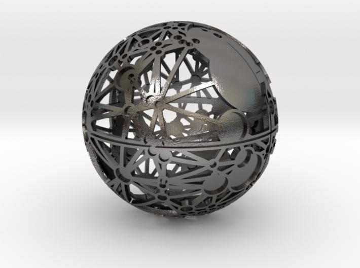 Craters of Luna Desk Sculpture 3d printed