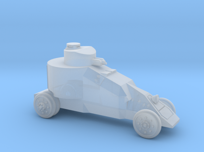 Benz-Mgebrov Armoured Car (6mm - 1/285) 3d printed