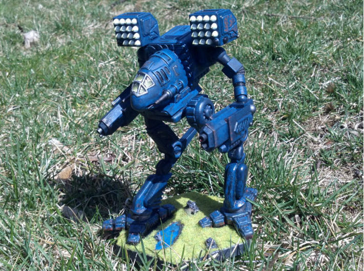Mad Cat / Timber Wolf Battlemech 1/72 3d printed Model painted and customized by dragnse7en