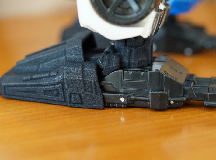 Combiner Guardian Slippers 3d printed
