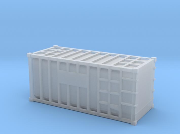 20 Waste Container Bristol (N Gauge 1:148) 3d printed