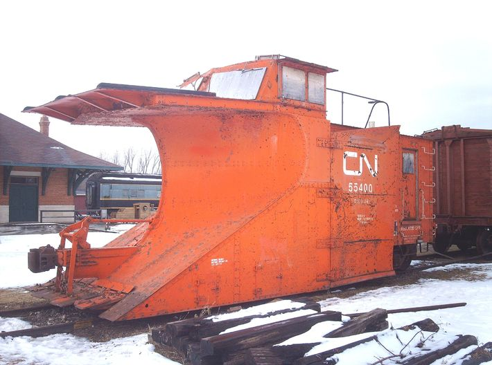 CNR Plow Cupola Sloping Front HO 3d printed