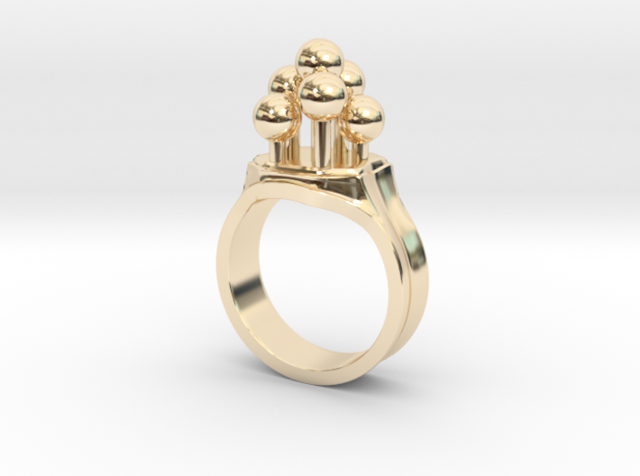 Bulbs Ring 3d printed