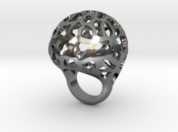 Orbit ring 3d printed