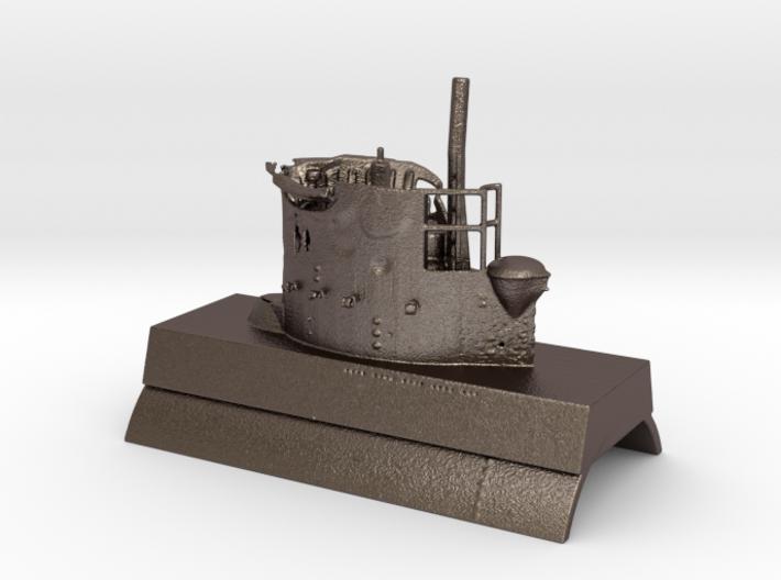 Damaged submarine 1:72 3d printed