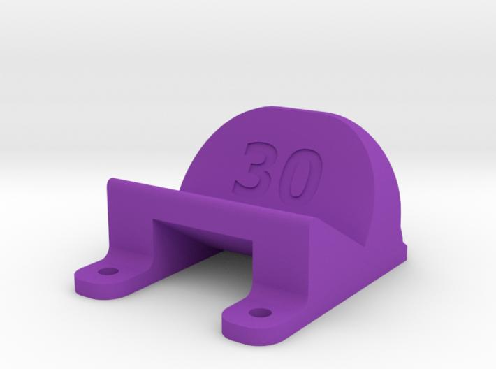 ImpulseRC Alien 5 - 30° Action Cam Mount 3d printed
