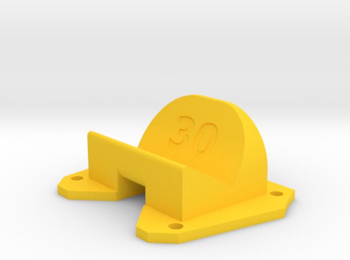 Birdseye KillerBEE - 30° Action Cam Mount 3d printed