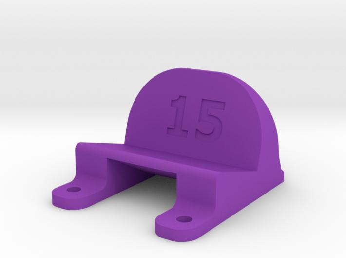 ImpulseRC Alien 6 - 15° Action Cam Mount 3d printed