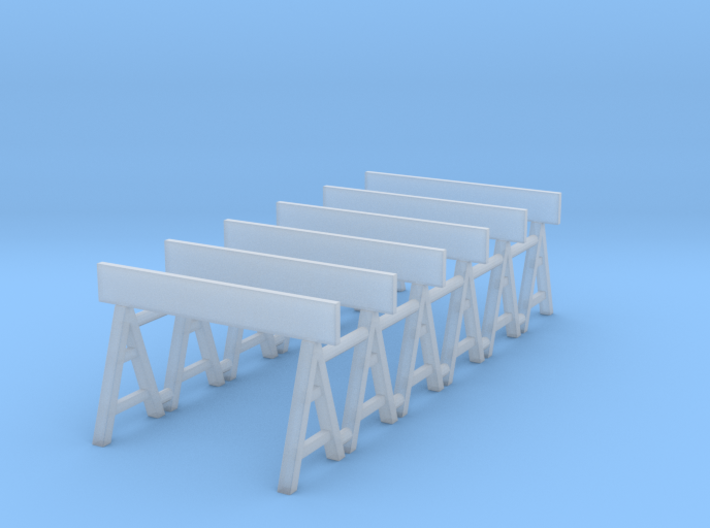 Traffic Barrier 01. 1:64 Scale 3d printed