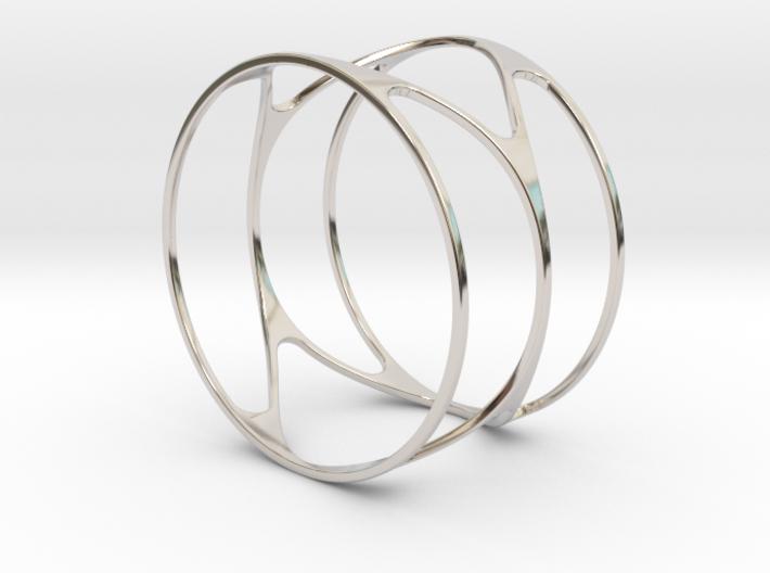 Thin bracelet - 67mm diameter 3d printed