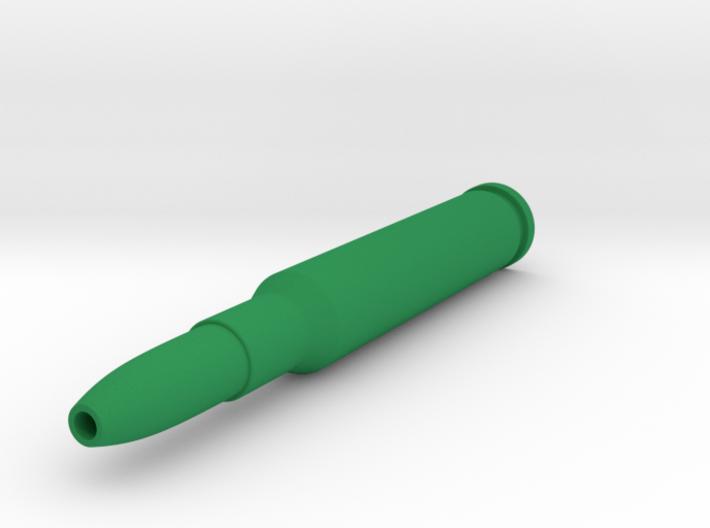 Bullet Pen 3d printed This Bullet Pen will hold a BIC Crystal ballpoint pen insert.