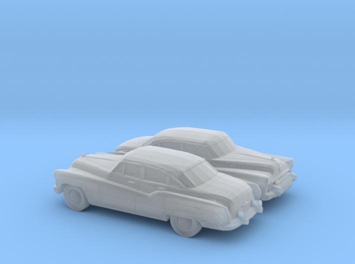 1/160 2X 1950 Buick Rooadmaster Sedan 3d printed